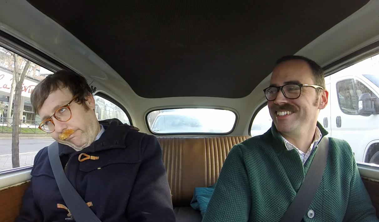 Joaquín Reyes, humorista, gambitero y celeeebrity, se luce en el Seiscientos