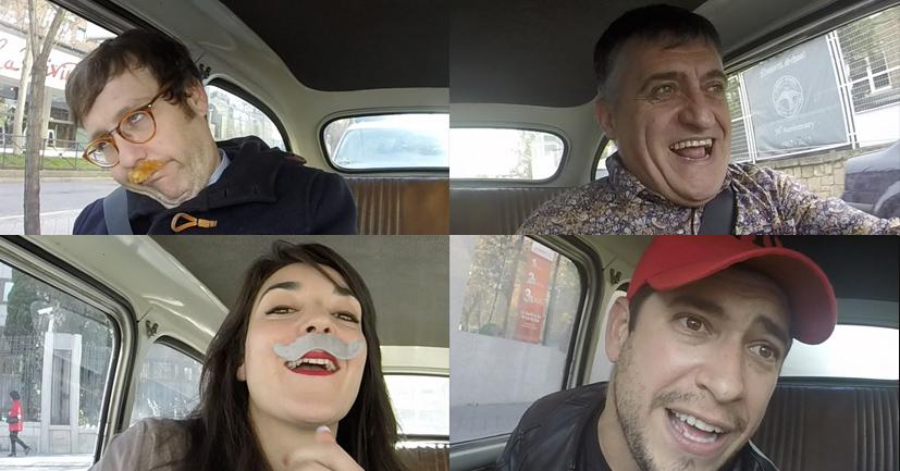 Música y risas con los invitados de Autoentrevistas