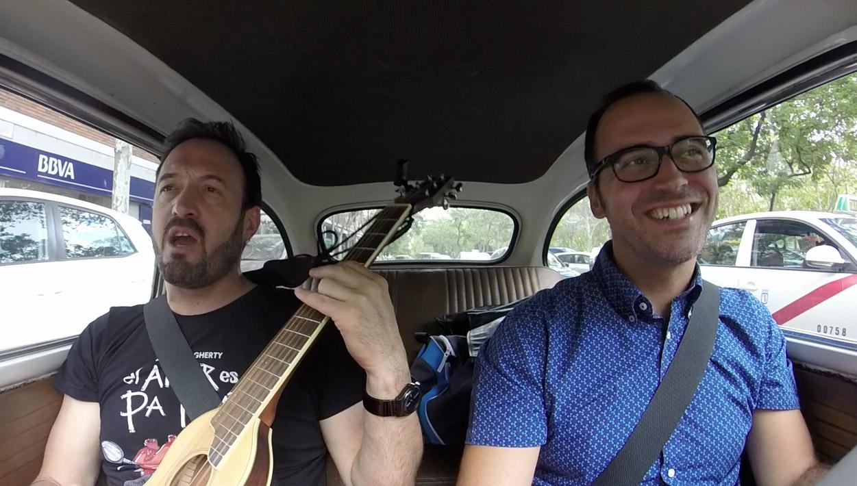 Paseo musical con el cómico y actor Álex O'Dogherty