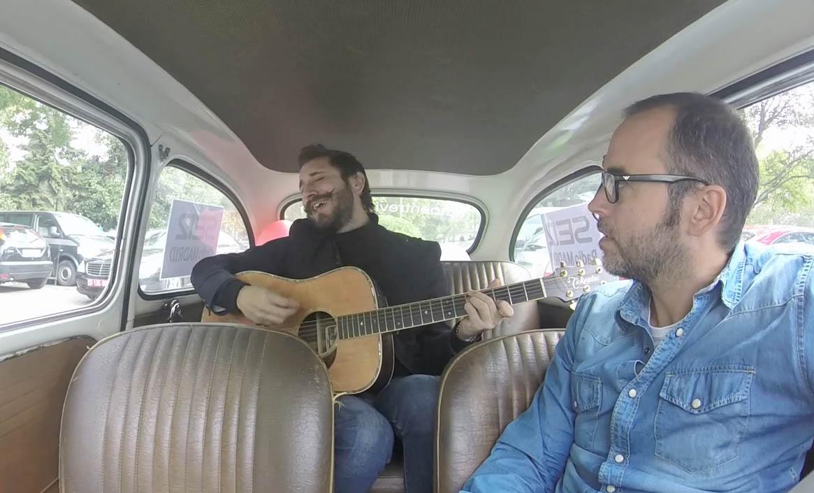 Litus, músico de Late Motiv, toca un tema de su nuevo disco en el Seiscientos