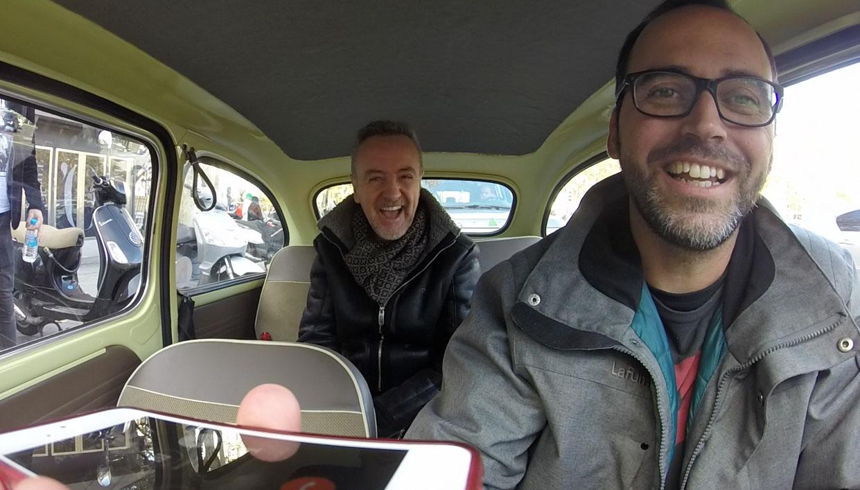 Llamada con Carlos Hipólito a Mariano Rajoy (parodia)
