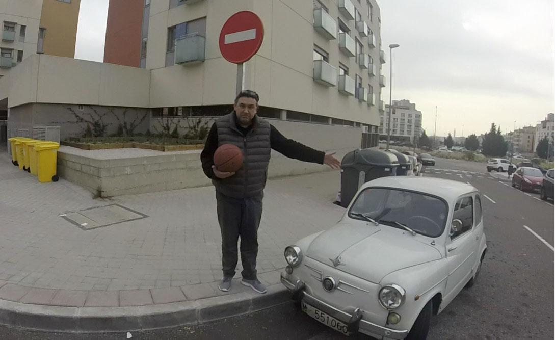 'Chechu' Biriukov, exjugador de baloncesto